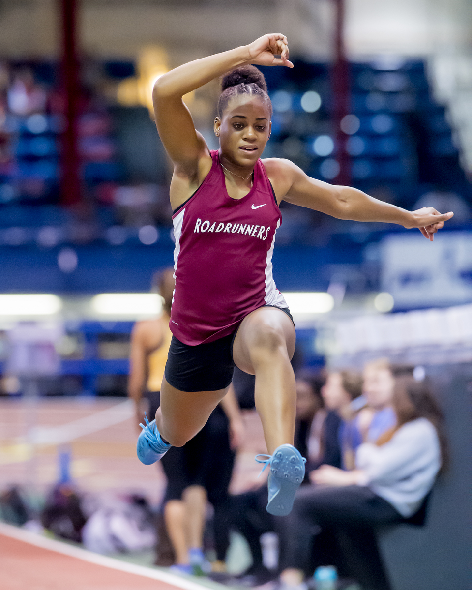 EDWARDS WINS TRIPLE JUMP AT BU DAVID HEMERY VALENTINE INVITATIONAL