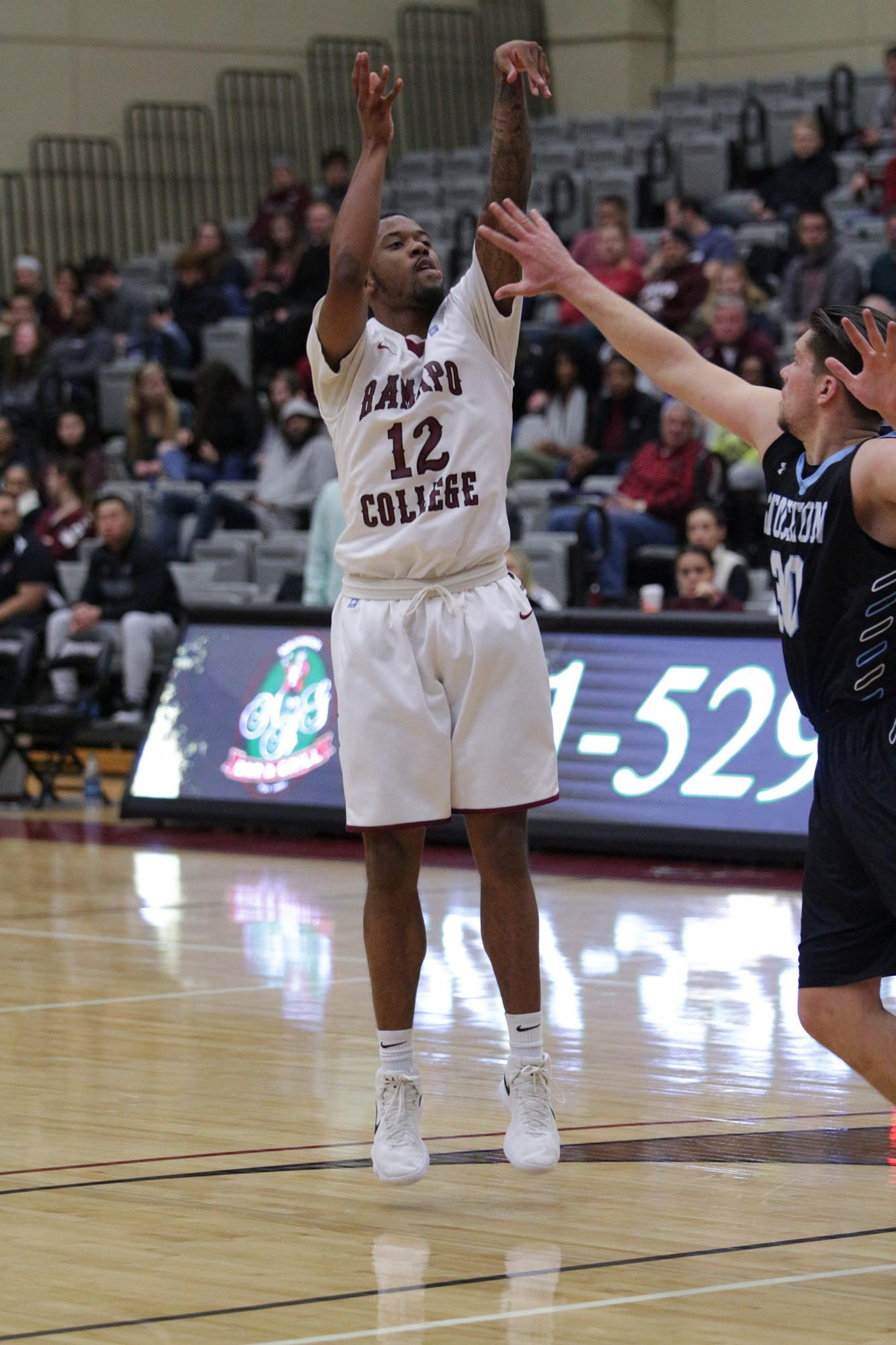 77aab057b LEWIS NETS CAREER HIGH IN 82-66 WIN OVER GORDON - Ramapo College of ...