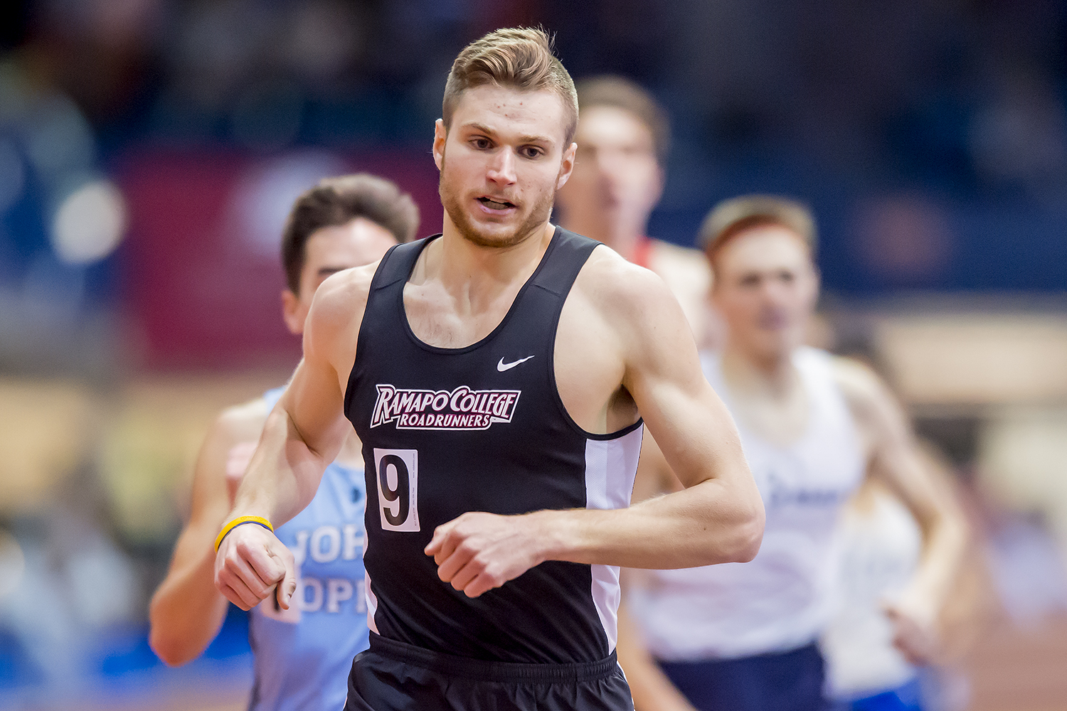 DISTANCE MEDLEY RELAY TEAM GRABS FOURTH PLACE FINISH AT BU VALENTINE INVITE